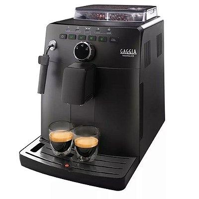 Cafeteira Automática Expresso Gaggia Naviglio Preta 110v