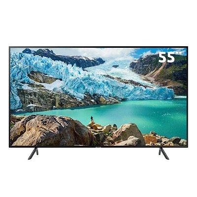 """Smart TV 4K LED 55"""" Samsung Ultra HD 55RU7100 HDMI/USB Wi-Fi"""