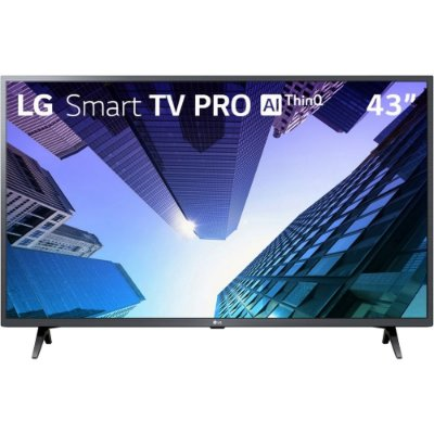 "TV LED 43"" LG Full HD ThinQ AI LM631C0SB 5ms HDMI/USB Wi-Fi"