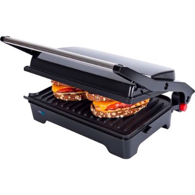 Grill Cadence Multiuso Club Black GRL620 220v