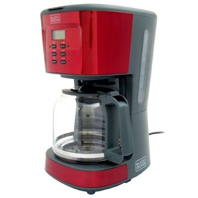 Cafeteira Elétrica CMP Programável Black+Decker 110v