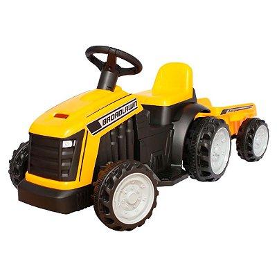 Mini Trator Elétrico Infantil 6V Reboque BW079-AM Importway