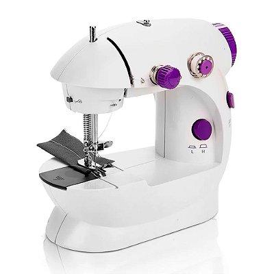 Mini Máquina de Costura Portátil IWMC507 Bivolt Importway