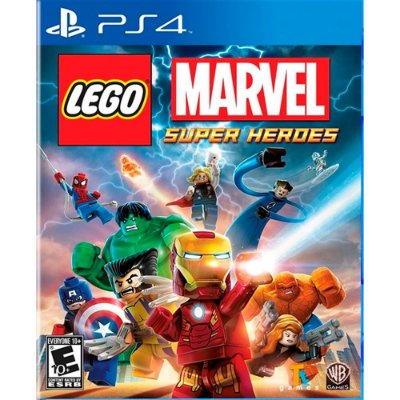 Game Lego Marvel Super Heroes (Playstation Hits) - PS4