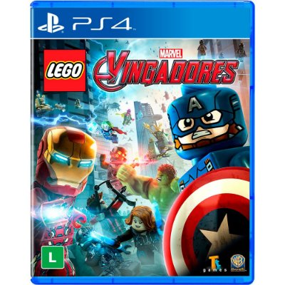 Game Lego Marvel Vingadores - PS4