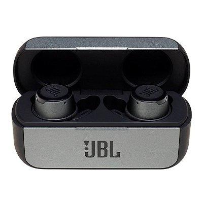 Fone de Ouvido Bluetooth Sem Fio JBL Reflect Flow IPX7 Preto