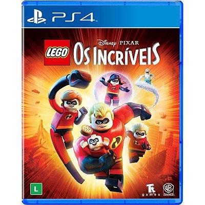 Jogo Lego Os Incríveis Mídia Física Original - PS4