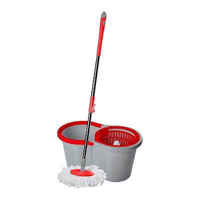 Vassoura Wap Mop Giratório Cesto em Plástico FW006944 Cinza