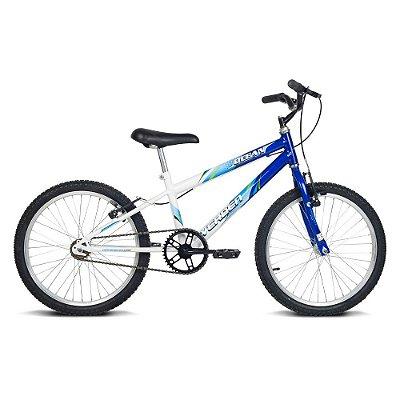 Bicicleta Juvenil Aro 20 Ocean Azul e Branco Verden Bikes