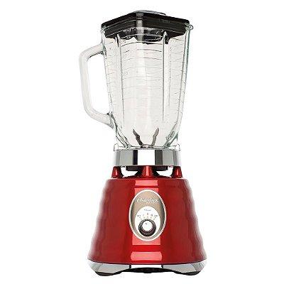 Liquidificador Clássico Osterizer Vermelho 4126 Oster 220v