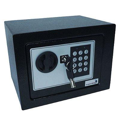 Cofre De Segurança Digital Aço 23x17 cm Importway