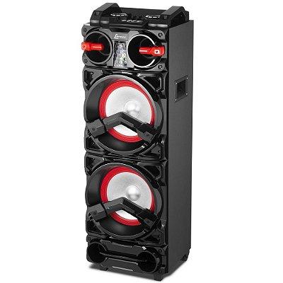Caixa de Som Amplificada 800W Bluetooth USB FM Lenoxx CA3900