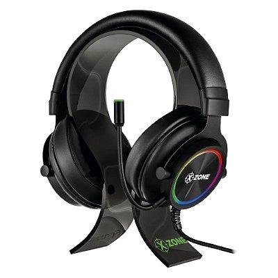 Headset Gamer LED RGB Para PC Xbox One PS4 Celular XZone GHS-01