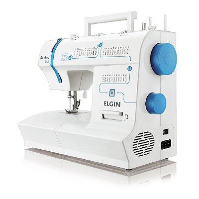 Máquina de Costura JX-4035 31 Pontos Genius Plus Elgin 220v