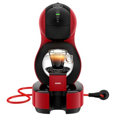 Cafeteira Nescafé Dolce Gusto Lumio Vermelha DGL6 Arno 127V