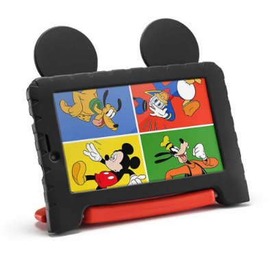 """Tablet 7"""" Kids Mickey Mouse Plus Nb314 16gb Wi-fi Multilaser"""