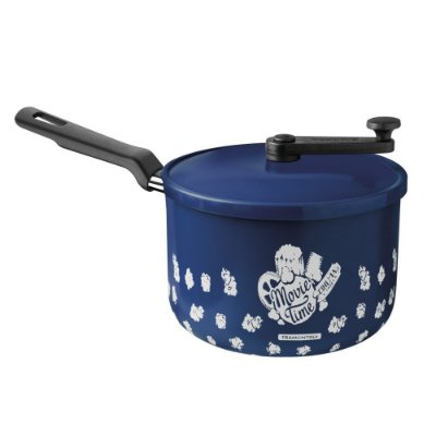 Pipoqueira Loreto Alumínio Antiaderente Azul 3,5l Tramontina