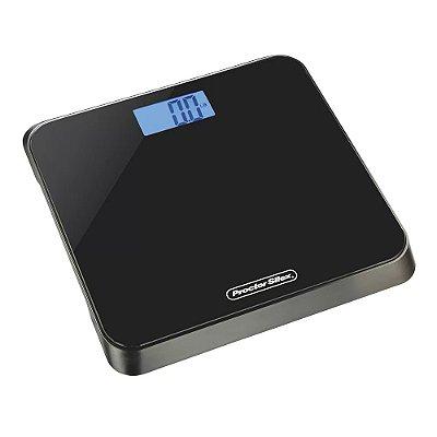 Balança Digital para Banheiro Preta Proctor Silex 150kg