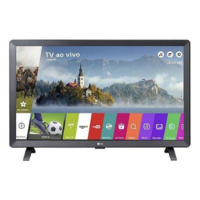 """Smart TV Monitor LG 24"""" LED Wi-Fi webOS 3.5 Bivolt 24TL520S"""