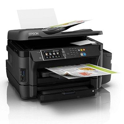 Impressora Multifuncional EcoTank Color Epson L1455 Bivolt