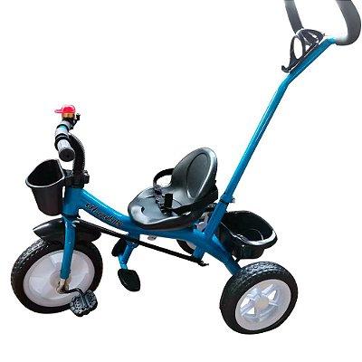 Triciclo Infantil 2x1 Velotrol Haste BW082 Azul Importway