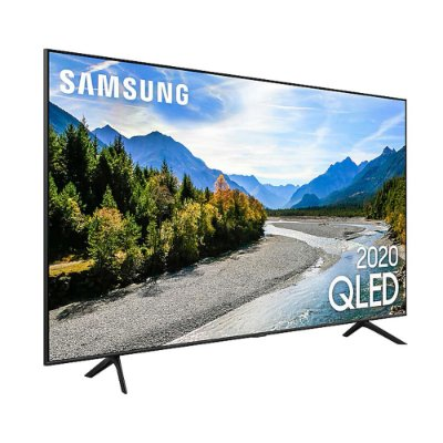 """Samsung Smart TV 55"""" QLED 4K 55Q60T Pontos Quânticos Wi-Fi"""