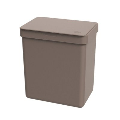 Lixeira 2,5l Warm Gray Single Coza 16,4x11,8x18,5cm Brinox