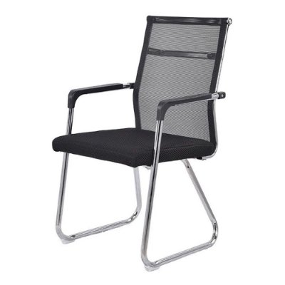 Cadeira Interlocutor Telada Preto IWCIT-002 Importway