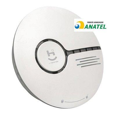 Sensor de Fumaça Inteligente Wi-Fi Home App Geonav HISSSK