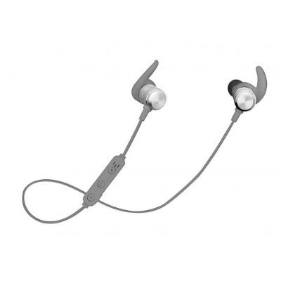 Fone Ouvido Bluetooth Intra-Auricular Aermove Prata Geonav