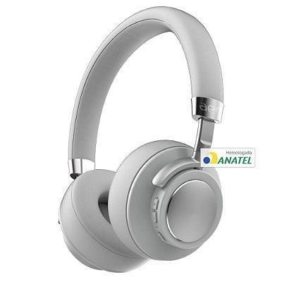 Fone de Ouvido Bluetooth AER07GR AerFluid Cinza Geonav