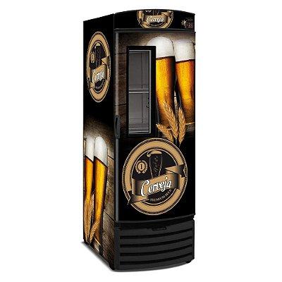 Cervejeira Vertical Com Visor 572 Lts VN50FL Metalfrio 127v