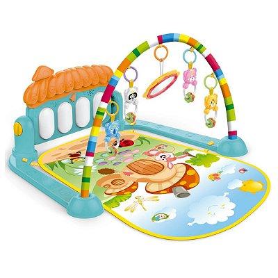 Tapete Infantil Divertido Musical Com Piano BWTIP Importway