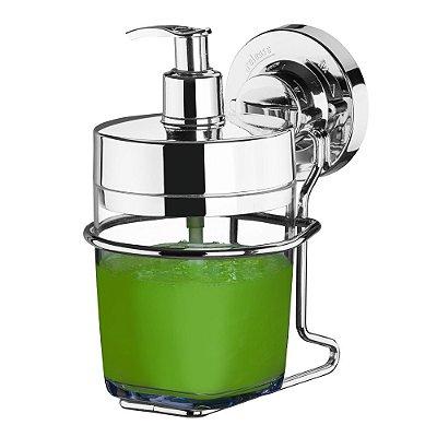 Suporte Porta Sabonete Liquido Aço Cromado 4014 Future