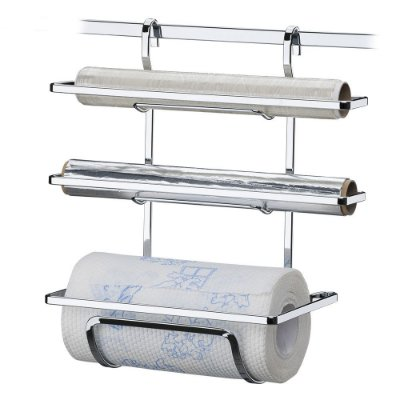 Suporte Rolos Papel Toalha/Alumínio/Pvc Aço Cromado 2801 Future