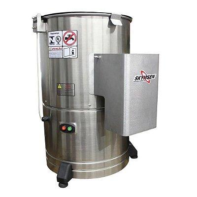 Descascador De Legumes DB-10 Inox Capacid. 10kg Skymsen 127v