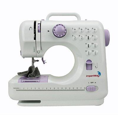 Maquina de Costura Portatil Kit 12 Pontos IWMC505C Importway