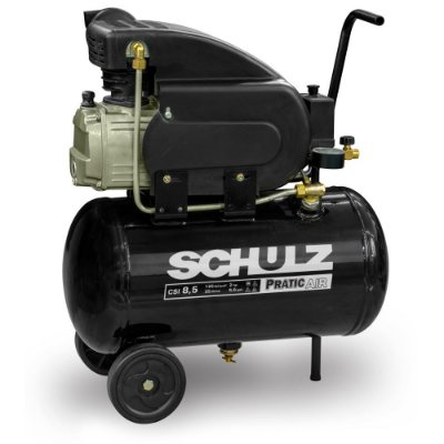 Compressor de Pistão Pratic Air CSI 8,5/25 2CV Schulz 127v