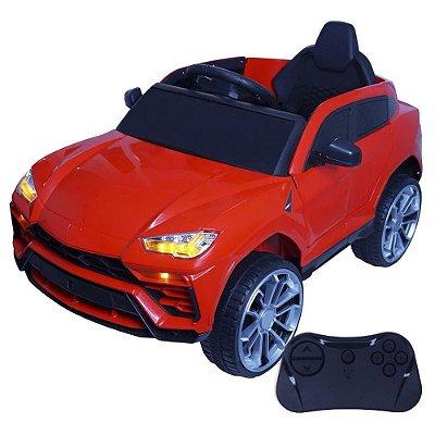 Mini Carro Elétrico Infantil 12V Vermelho BW-029VM Importway