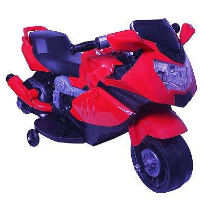 Mini Moto Elétrica Infantil 6V Vermelha BW-044VM Importway