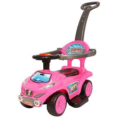 Carrinho Passeio Infantil Empurrador Rosa BW059 Importway