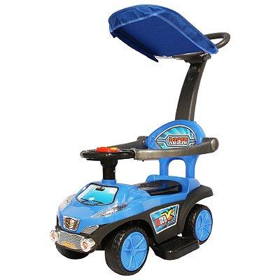 Carrinho Passeio Infantil C/ Capota Azul BW060 Importway