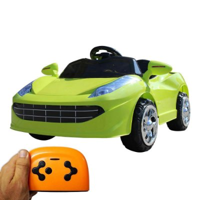 Mini Carro Elétrico Infantil 6V Verde BW-097VD Importway