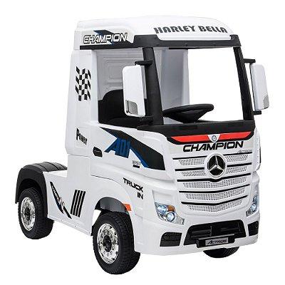 Caminhão Elétrico 12V Mercedes Benz Branco BW119 Importway