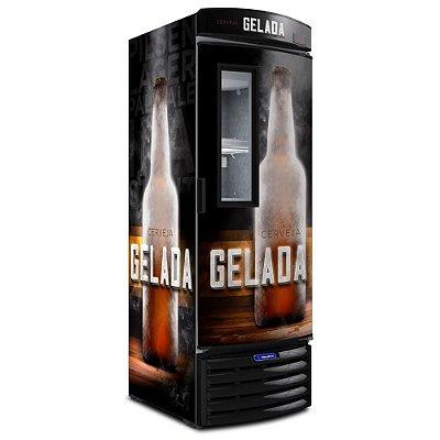 Cervejeira Vertical Com Visor 572 Lts VN50F Metalfrio 127v