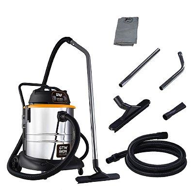 Aspirador de Pó e Água Profissional WAP GTW Inox 70 DUO 220v
