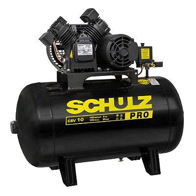 Compressor de Pistão Air Pro CSV 10/100 2HP Schulz 127v