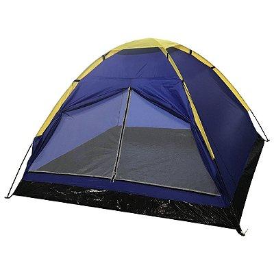 Barraca de Camping Iglu 4 Pessoas IWBC-4P Azul Importway