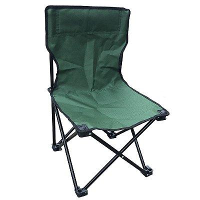 Cadeira Camping Dobrável Sem Apoio IWCCDS002 Verde Importway