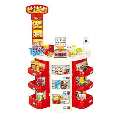 Kit Supermercado Infantil 30 Peças BW101 Importway